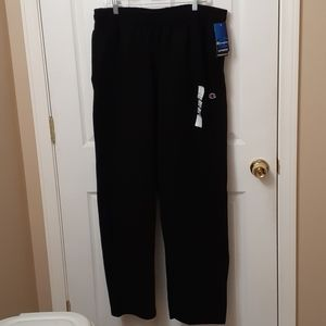 Mens Champion Powerblend Open Bottom Pant
